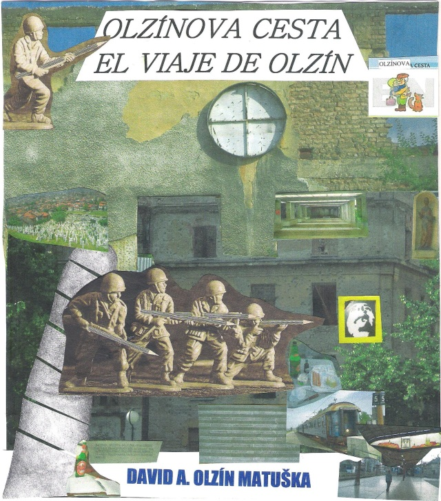 La portada del poemario visual